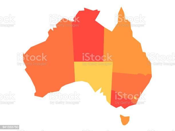 Vector orange blank map of australia vector id941333750?b=1&k=6&m=941333750&s=612x612&h=ydkefstdnxwf 0 nmwhkitckimihlw27xpp8azi7bhc=