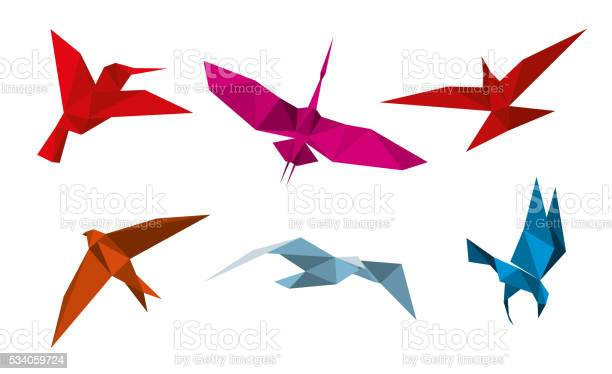 Vector origami birds vector id534059724?b=1&k=6&m=534059724&s=612x612&h=tsa7fv wmot iexvci7b9db09kwc9lulqjdrt6n xj4=
