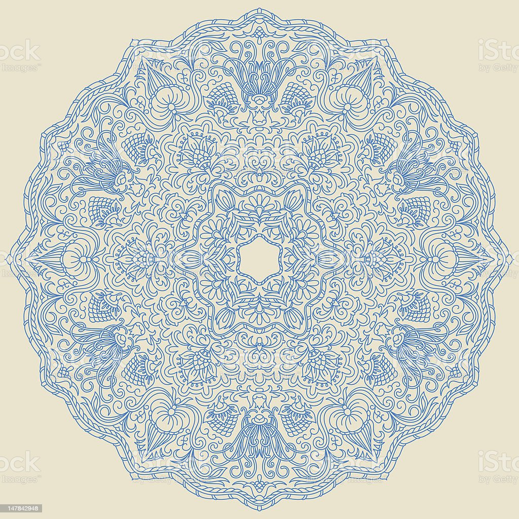 Vector ornament. royalty-free vector ornament stock vector art & more images of antique
