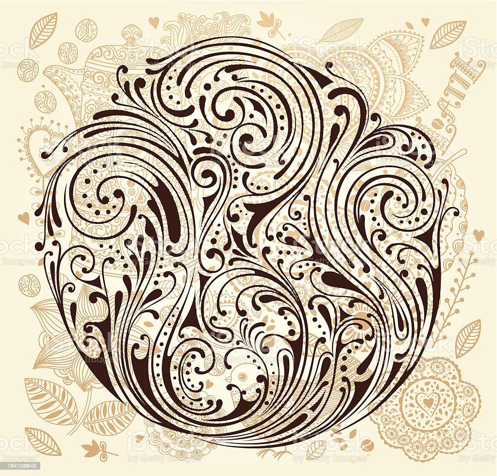 Vector ornament royalty-free stock vector art