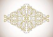 Vector ornamental  decorative element.