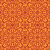 Vector ornamental seamless pattern. The Arabic style.