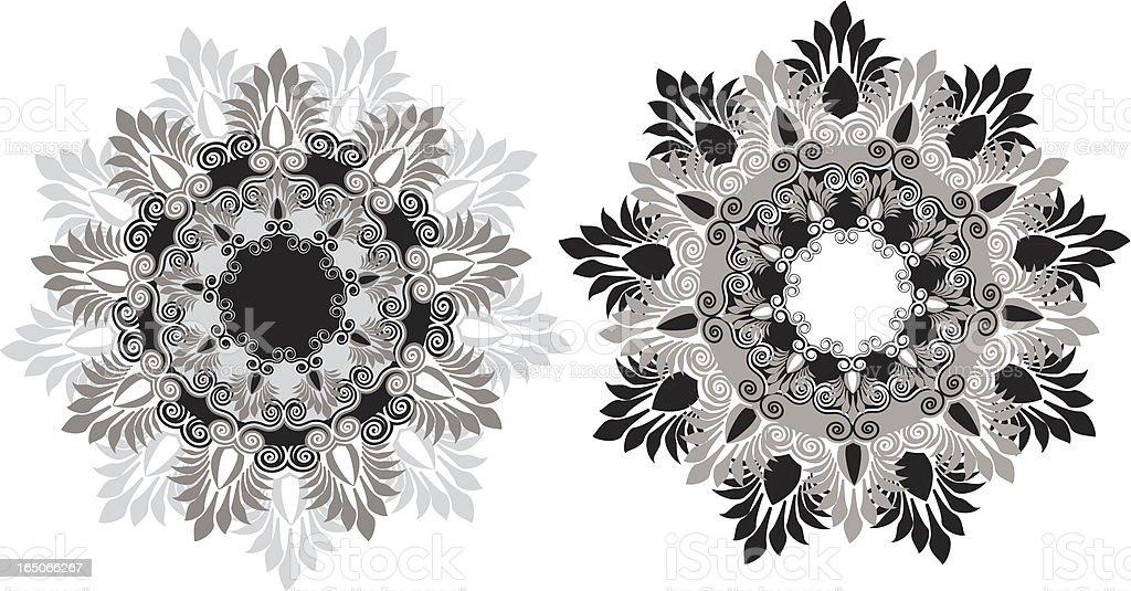 Vector ornaments royalty-free stock vector art