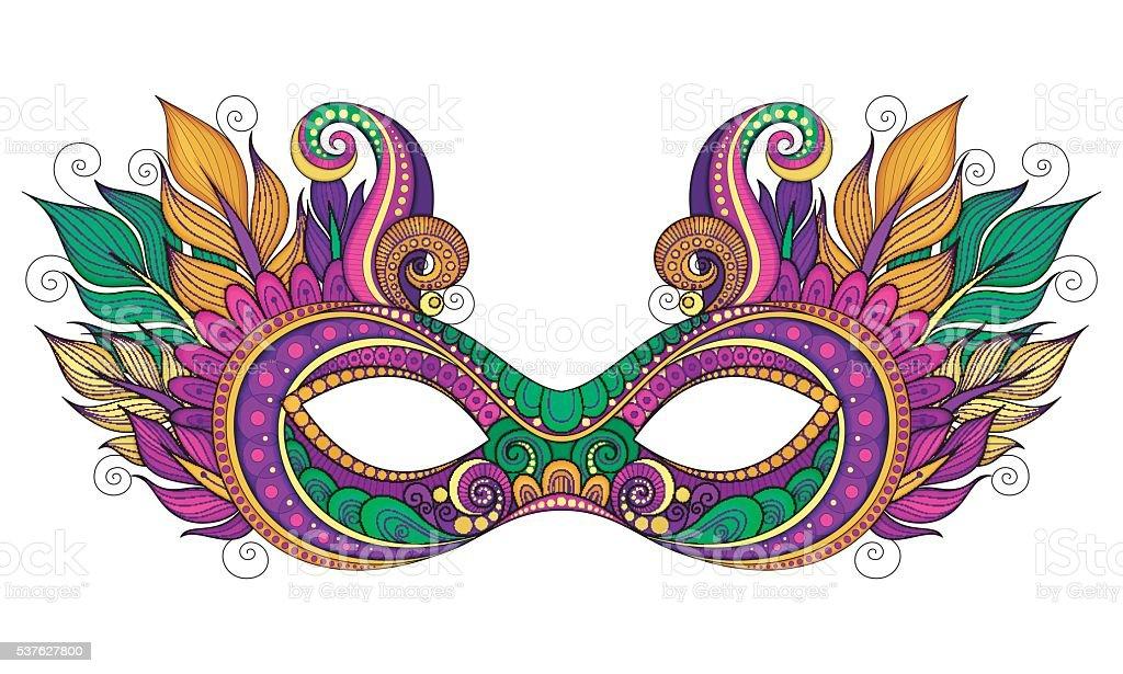 royalty free mardi gras mask clip art vector images illustrations rh istockphoto com  mardi gras mask clip art images