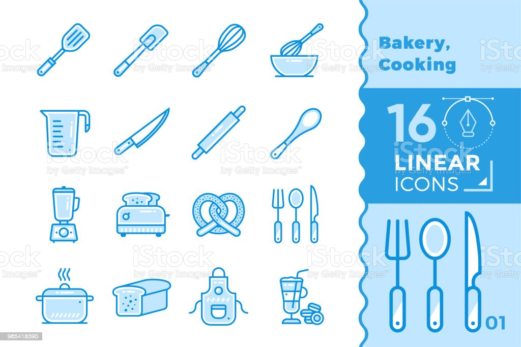 Vector outline icons collection of bakery, cooking. High quality modern icons for suitable for banners, mobile apps and presentation royalty-free vector outline icons collection of bakery cooking high quality modern icons for suitable for banners mobile apps and presentation stock vector art & more images of bakery