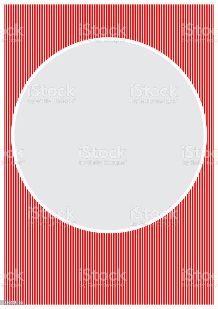 Vector Page Border A4 Design For Project Stock Vector Art More