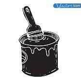 Vector - Paint brush, illustration