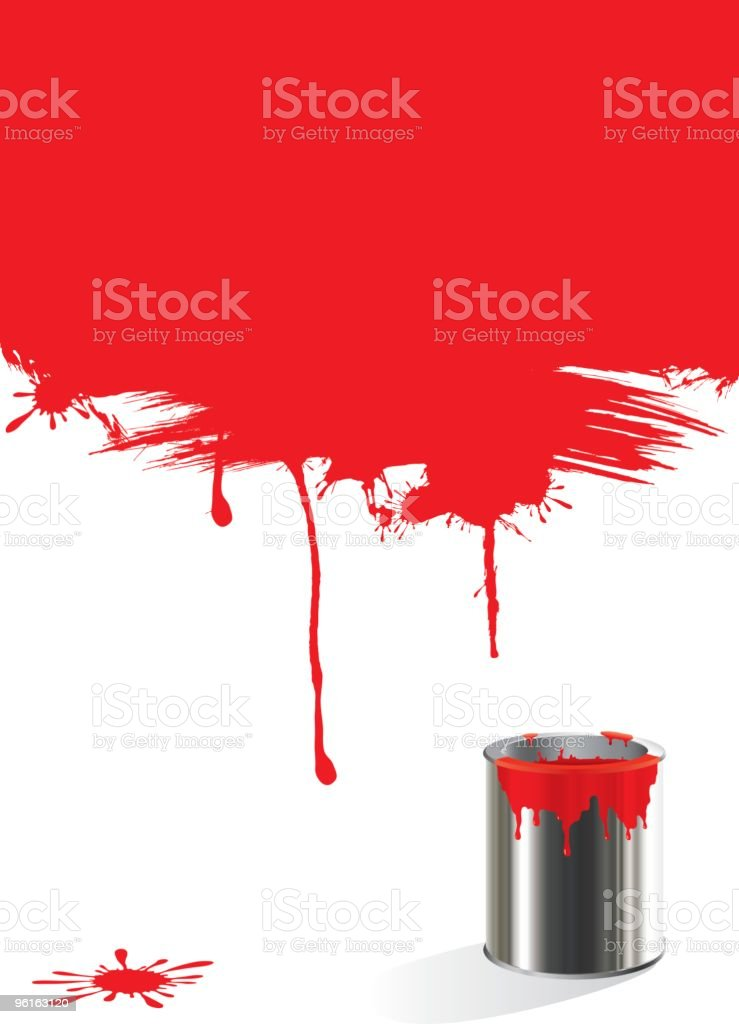 vector paint can royalty-free stock vector art