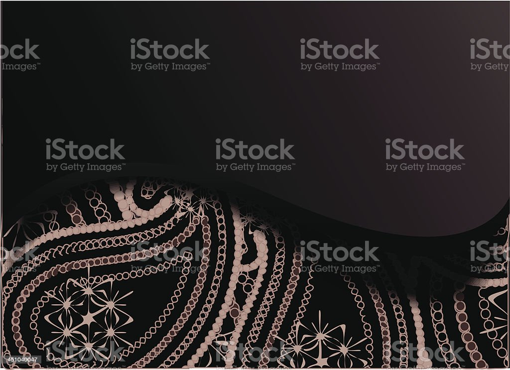Vector paisley background royalty-free stock vector art