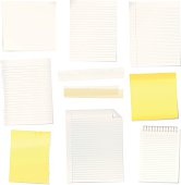 Vector paper notes