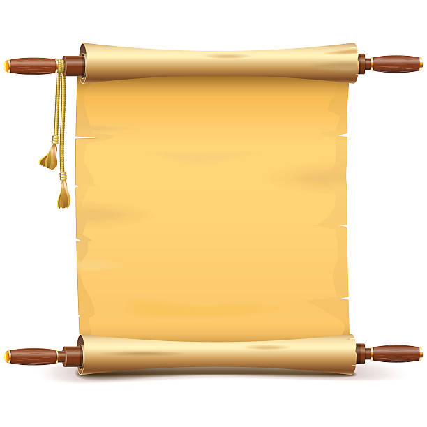 Vector Paper Scroll – Vektorgrafik