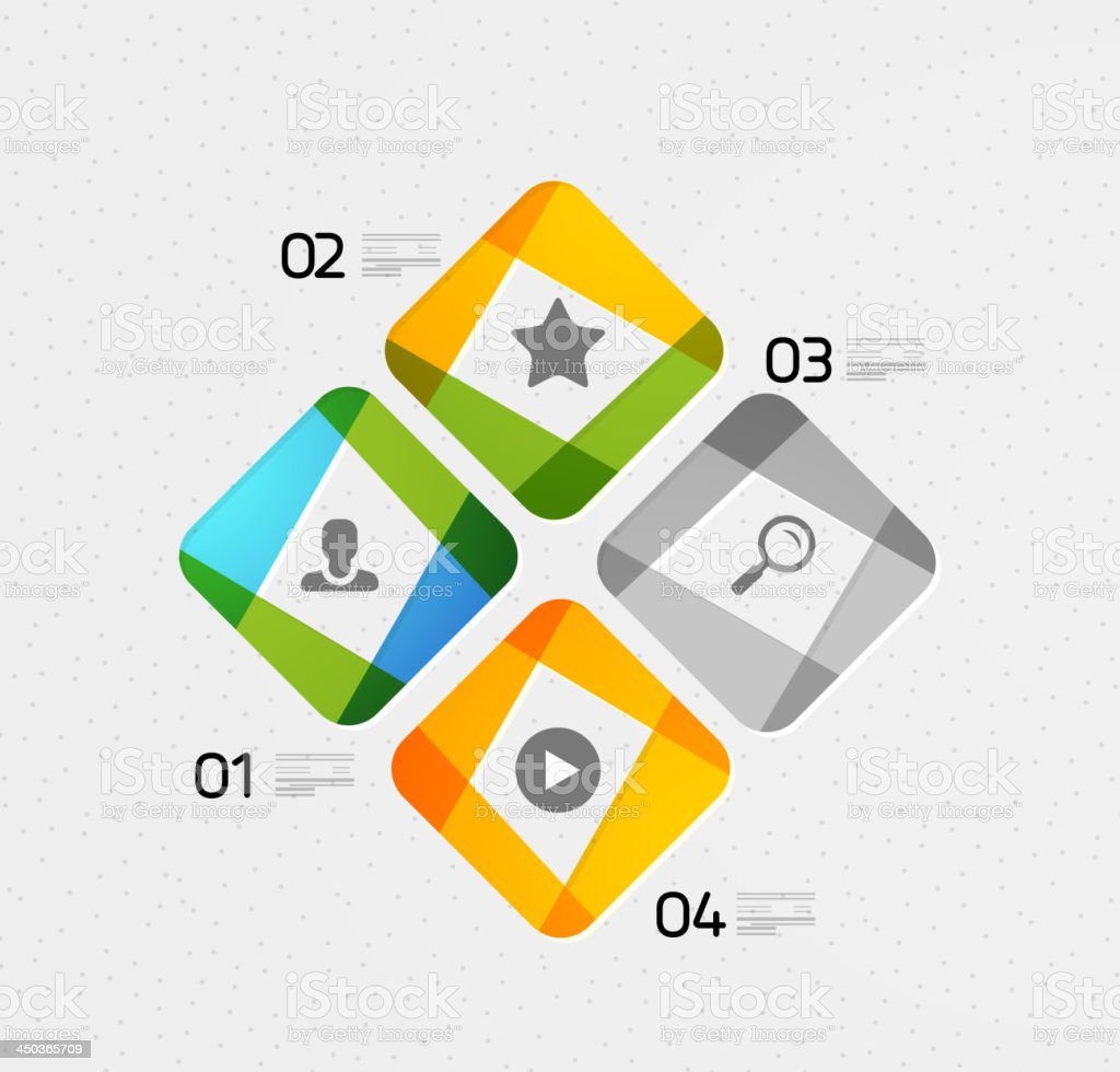 Vector paper style infographic website layout royalty-free vector paper style infographic website layout stock vector art & more images of abstract