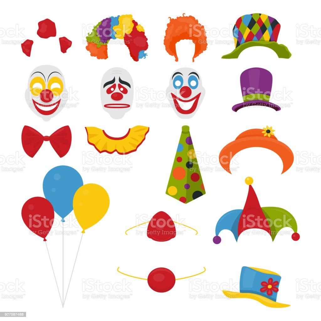 Vectores fiesta cumpleaños o abril 1 - día de tonto s - Foto accesorios de  cabina 78cec976f43