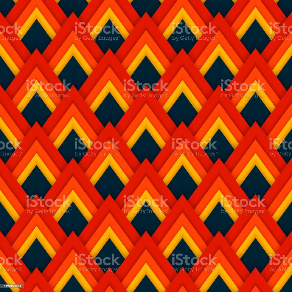Vector pattern seamless pattern with red rhombuses vector pattern seamless pattern with red rhombuses - stockowe grafiki wektorowe i więcej obrazów abstrakcja royalty-free