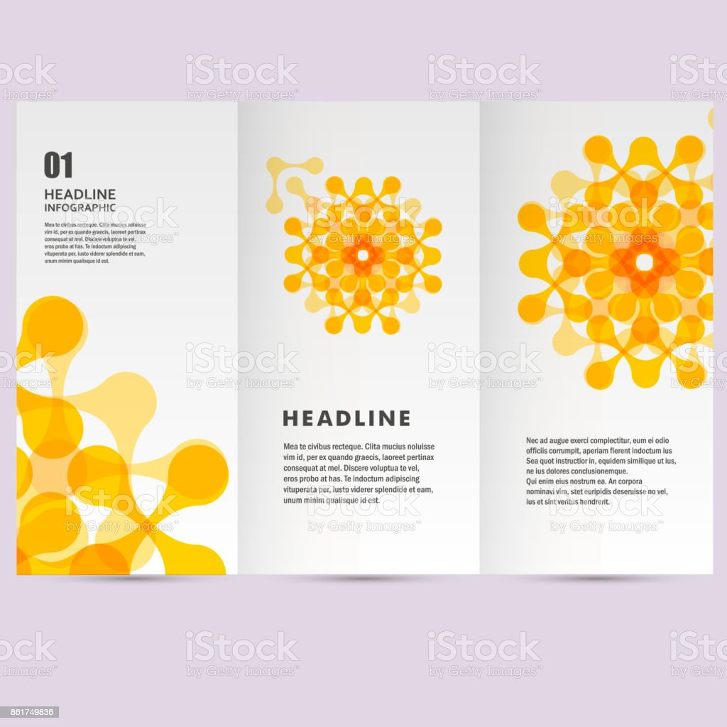 Vector pattern with abstract figures vector art illustration