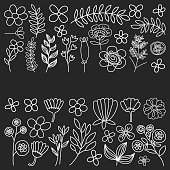 istock Vector pattern with flowers Garden Birhday Wedding Postcard 545796298