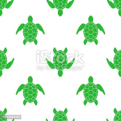 ᐈ Imagen De Patrón De Vector Con Tortugas Marinas Textura Con