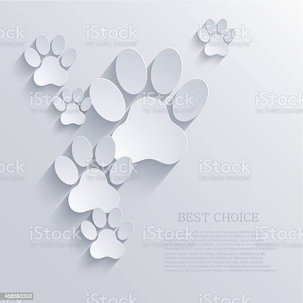 Vector paw background eps10 vector id458563303?b=1&k=6&m=458563303&s=612x612&h=4sizmqxs55tup3obod3fptusvuemgdgv4f8pqu1vou0=