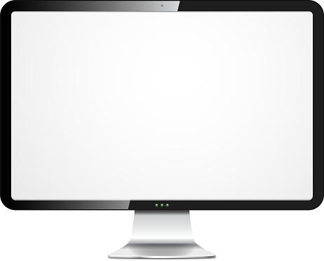 Vector hi-tech monitor.