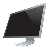 istock Vector PC Monitor 512284726