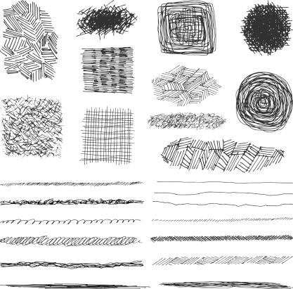vector pencil stokes desifn elements