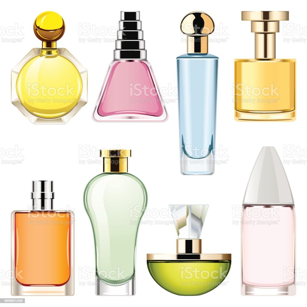 Conjunto de ícones de Perfume do vetor 2 - ilustração de arte em vetor