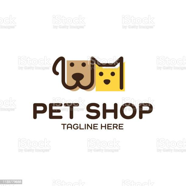 Vector pet shop design template vector id1133779688?b=1&k=6&m=1133779688&s=612x612&h=6smqhgng6e865cglci0va5ypy7nnxbzsoutappi0v1m=