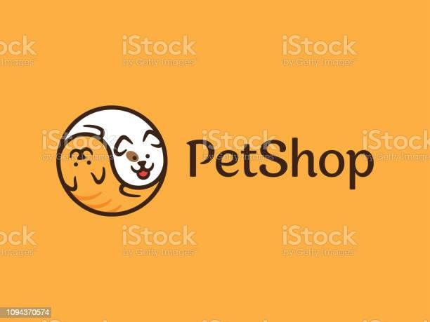 Vector pet shop logo design template vector id1094370574?b=1&k=6&m=1094370574&s=612x612&h=2e2ttmqy7wyde0chwlw61viyt1adx0sdwc2dwdrs9fi=