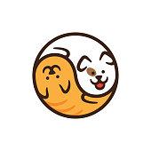 Vector Pet Shop Logo Design Template