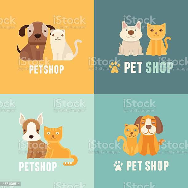 Vector pet shop logo design templates vector id467198514?b=1&k=6&m=467198514&s=612x612&h=rn4jwa3bwbhm5ppulmzxbu38fo viaiafqiatdmjwuw=
