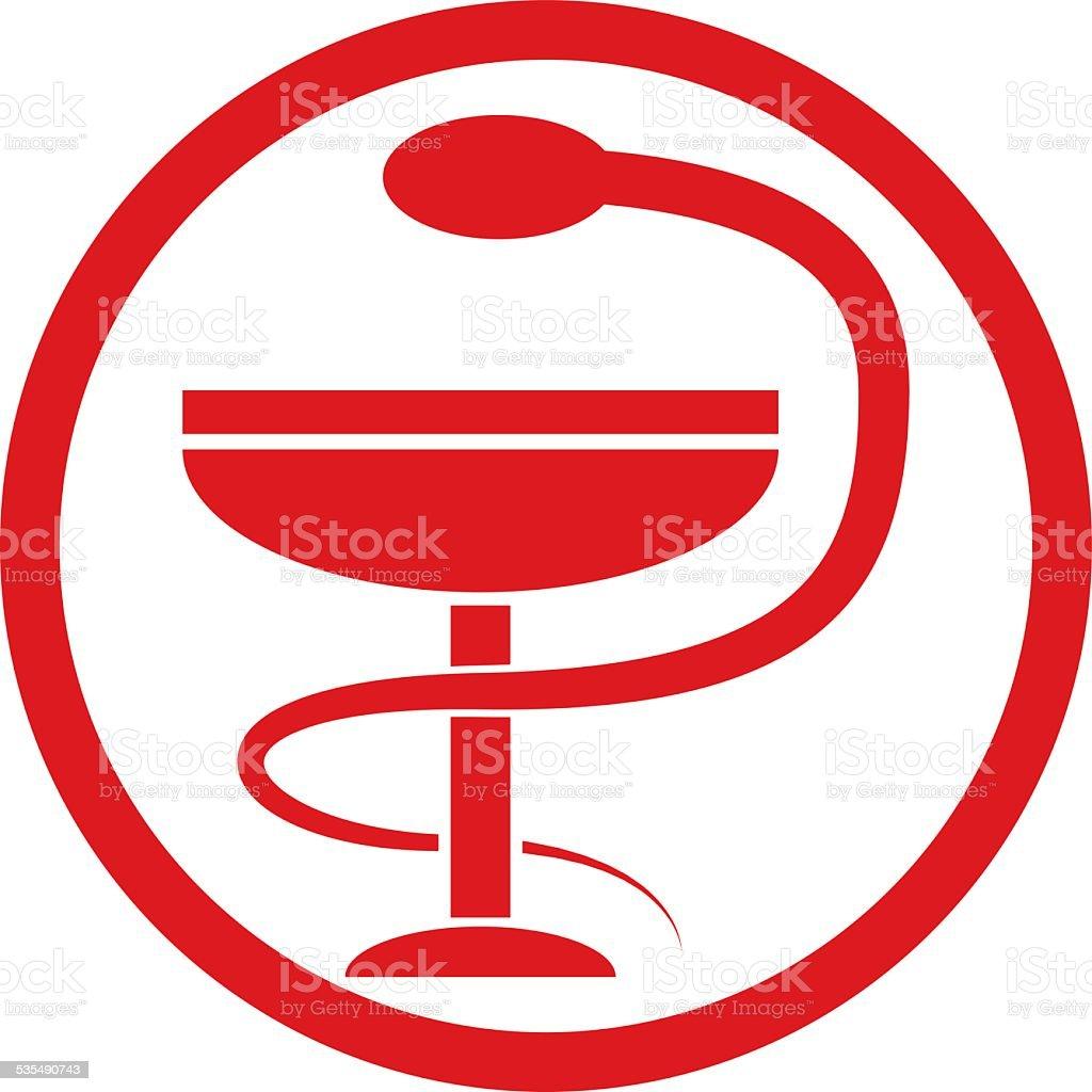 Vector Pharma Symbol Snake Around A Goblet Stock Vector Art More