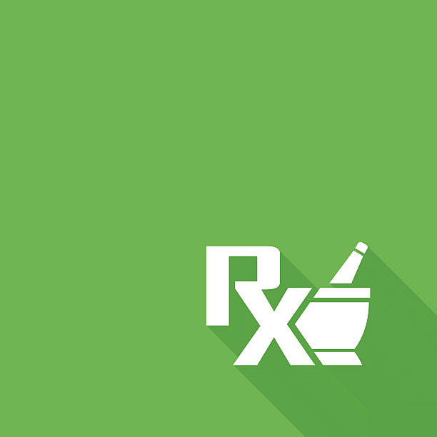 Vector pharmacy symbol - mortar and pestle Vector pharmacy symbol - mortar and pestle pharmacist stock illustrations