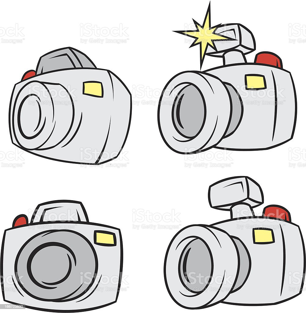 Vector Photo camera royalty-free stock vector art
