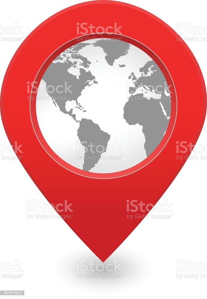 Vector pin world map location globe stock vector art more images vector pin world map location globe royalty free vector pin world map location globe stock gumiabroncs Choice Image