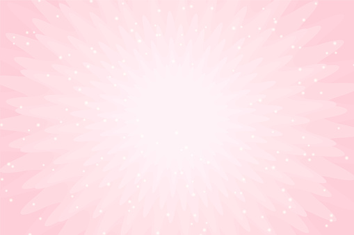 Vector pink background with lights. Wallpaper for little princess party invitation card.