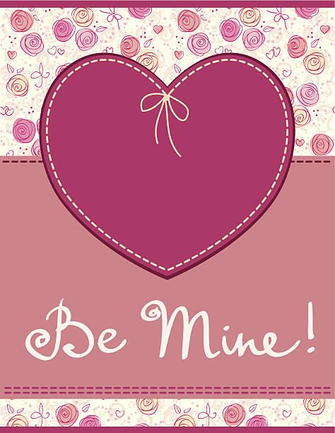 illustrazioni stock, clip art, cartoni animati e icone di tendenza di etichetta vettoriale rosa cuore in tessuto - love word