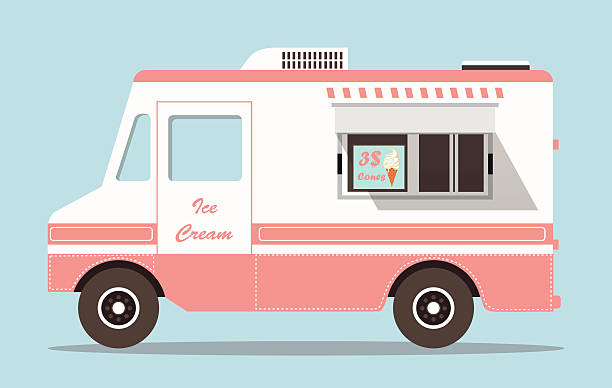 Royalty free food truck clip art vector images for Food truck design app
