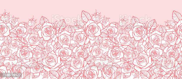 Vector pink monochrome roses and leaves outlines horizontal border vector id1188776127?b=1&k=6&m=1188776127&s=612x612&h=y46yrflj wrcynqedq8ns3bhyjgrqky6xmuwoebljv4=