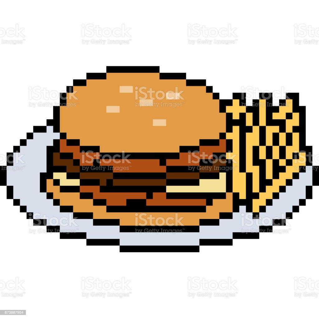 desenho de arte pixel vector - ilustração de arte em vetor