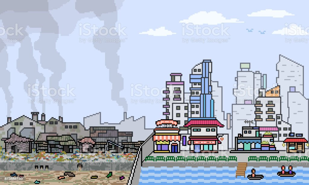 vector pixel art cartoon vector art illustration