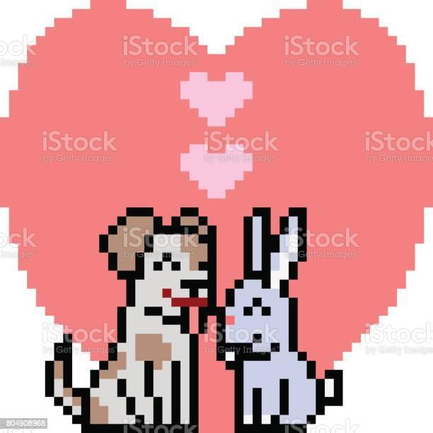 Vector pixel art couple pet vector id804908968?b=1&k=6&m=804908968&s=612x612&h=zcjvsk3npxvytqksj9lcgu 7unzwlppymuz2sgwdid8=