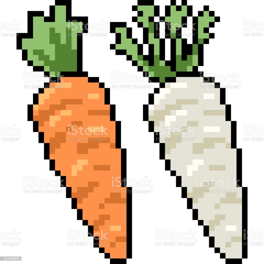 Dessin Animé Isolé Vecteur Pixel Art Vecteurs Libres De Droits Et Plus Dimages Vectorielles De Aliment