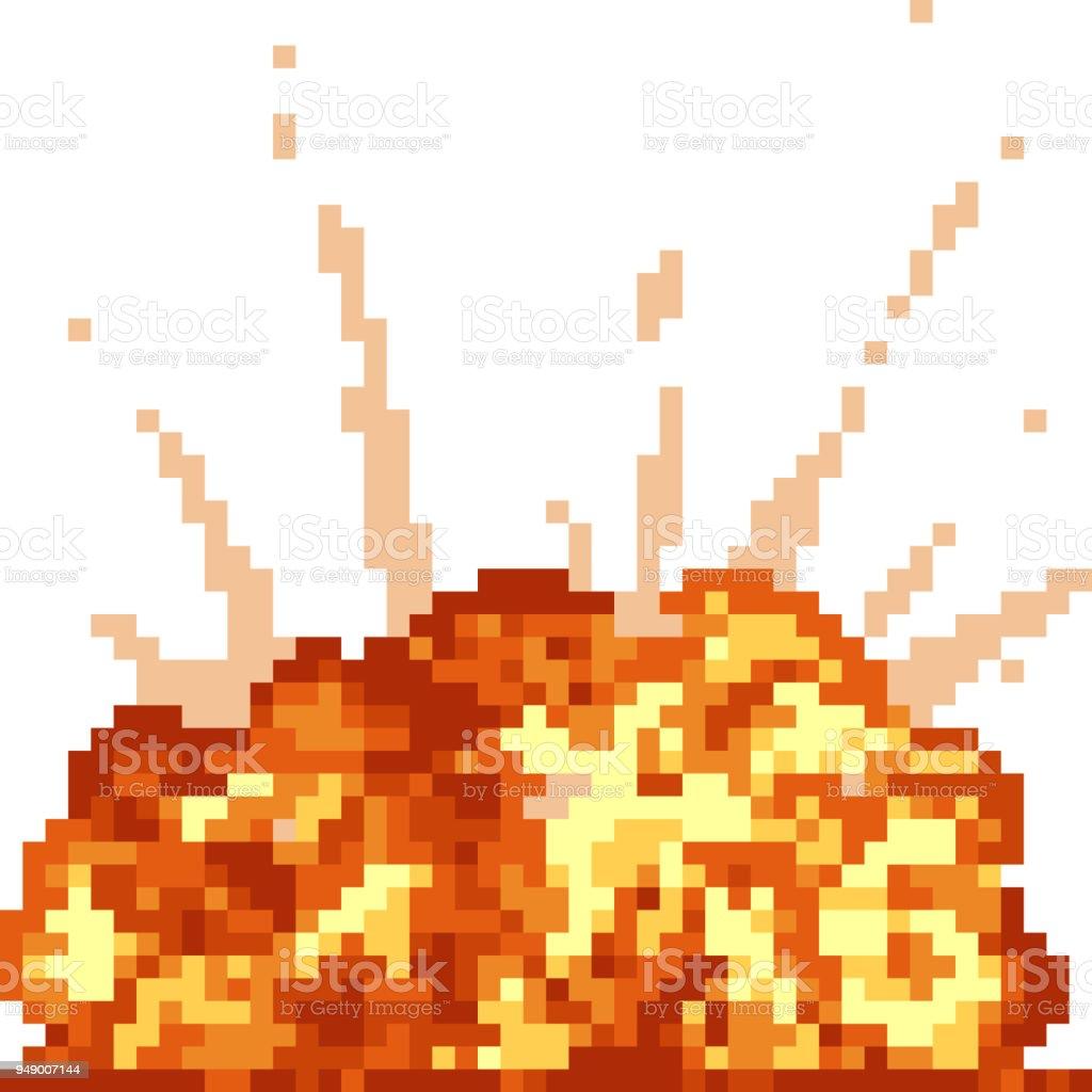 dessin anim isol vecteur pixel art cliparts vectoriels et plus d 39 images de arme nucl aire. Black Bedroom Furniture Sets. Home Design Ideas
