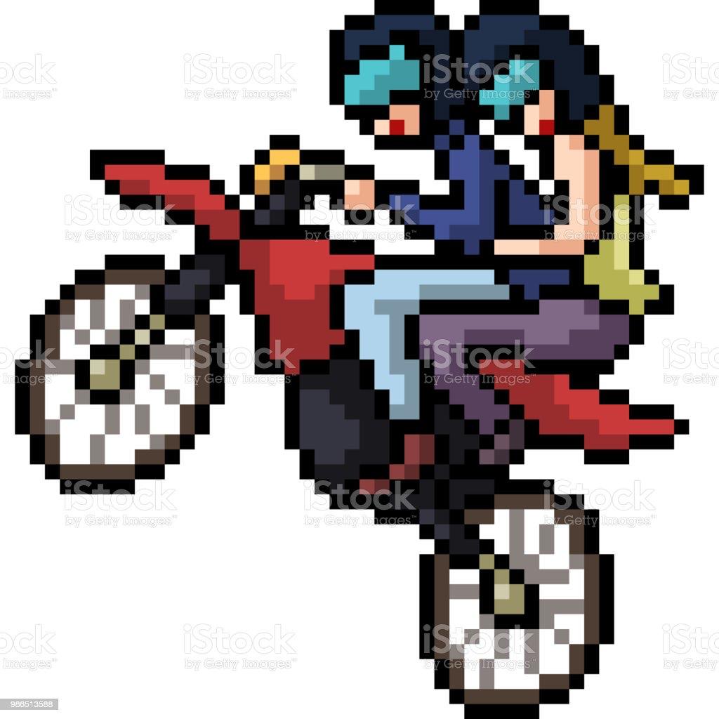 Vector Pixel Art Isolated Cartoon Stock Illustration Download Image Now Istock
