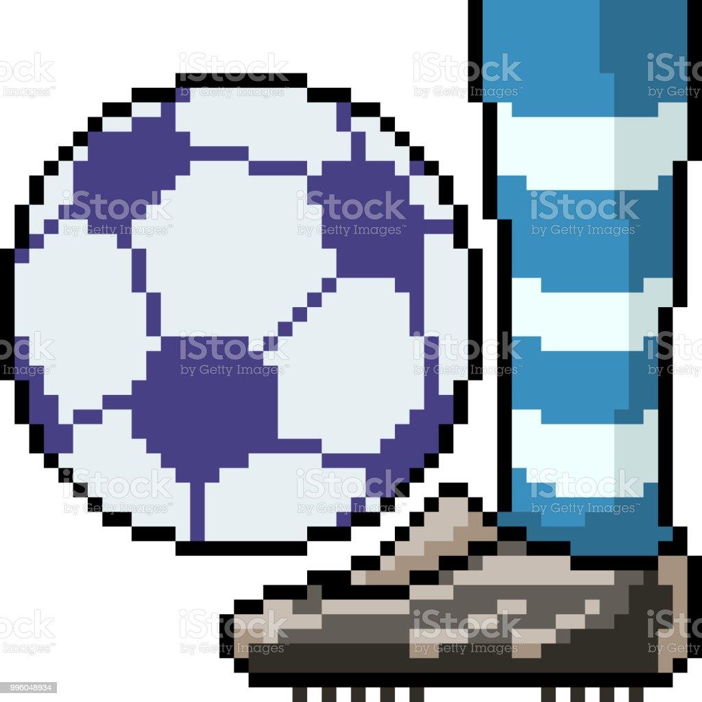 Dessin Pixel Art Ballon De Foot