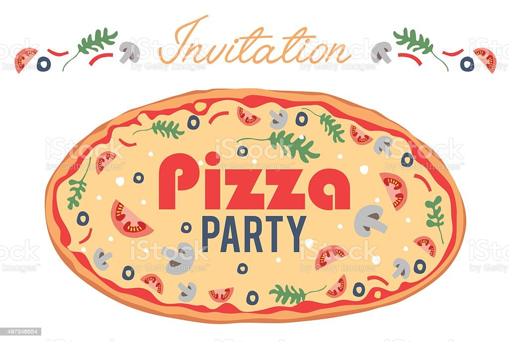 Invitation anniversaire pizza party rabobankcentraaltwente invitation anniversaire pizza party stopboris Images