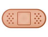 Vector plaster bandage color design
