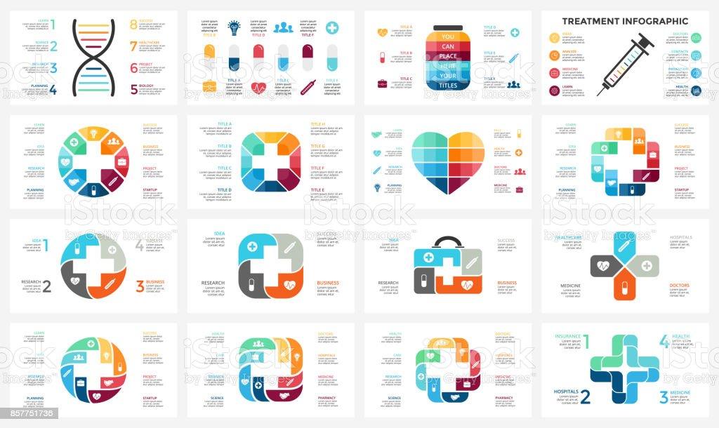 Vector Plus Infografik Medizinischen Diagramm Gesundheitswesen Graph ...