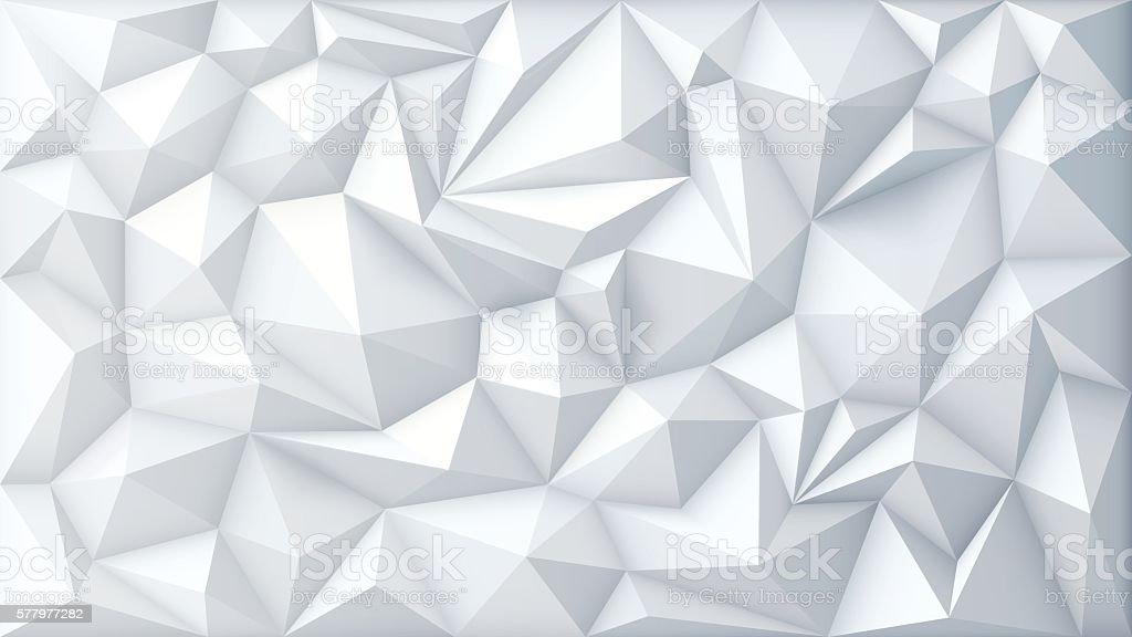 Vector Polygon Abstract Polygonal Geometric Triangle Background - Vetor de Abstrato royalty-free