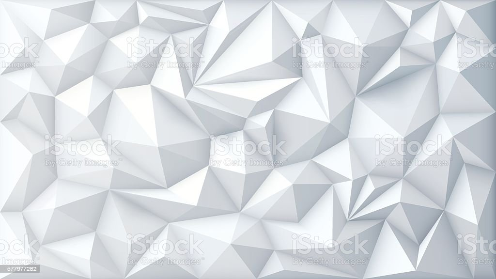 Vector Polygon Abstract Polygonal Geometric Triangle Background - Illustration vectorielle